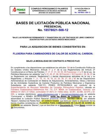 FLUXERIA PARA CAMBIADORES DE CALOR.pdf - Pemex ...