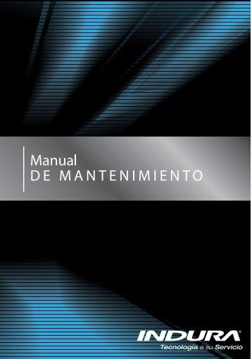 Manual de Mantenimiento - Indura