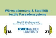 Präsentation ITA an der RWTH Aachen - ZiTex