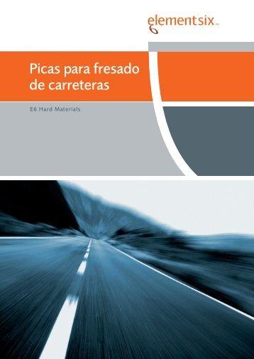 Picas para fresado de carreteras - Element Six