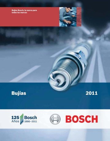Bujías - Bosch
