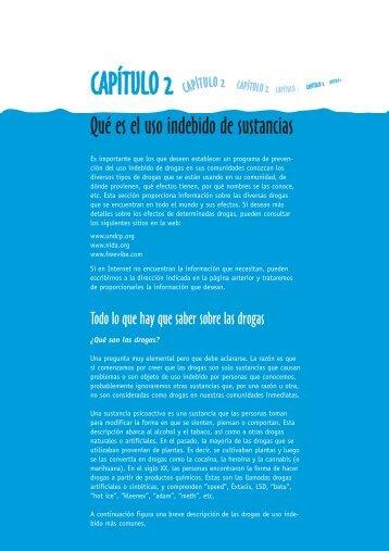 Manual sobre programas de prevención del uso indebido de drogas ...