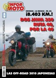 DOS JAWA 350 RUTA 40, POR LA 40 ¡8.403 KM.! - Jawa Argentina