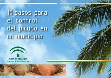 10 pasos para el control del picudo en mi municipio - Junta de ...