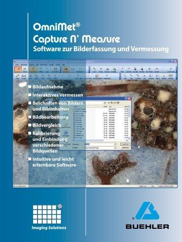 OmniMet® Capture N' Measure