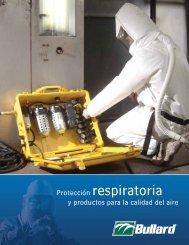Protección respiratoria y productos para la calidad del aire - Bullard