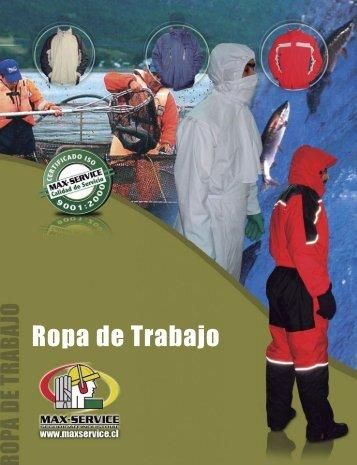 Catálogo de Ropa - Max Service
