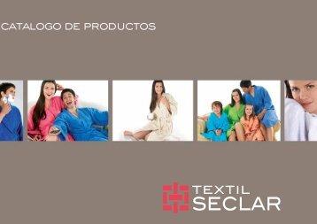 folleto seclar final:Layout 1 - Textil Seclar