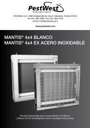 MANTIS® 4x4 BLANCO MANTIS® 4x4 EX ... - PESTWEST.COM