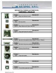 Copia de Despiece Torno Automatico - Industrias Artemec.com.ar