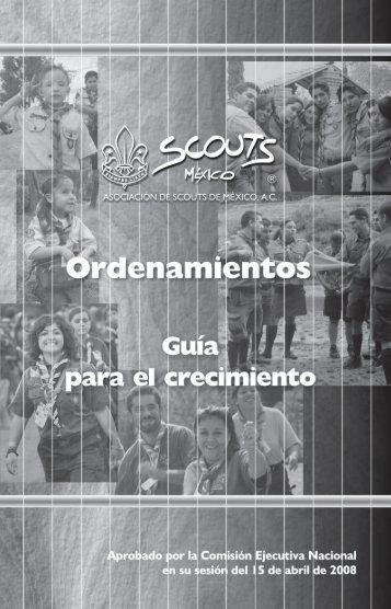 Descargar Guía para el Crecimiento - Asociación de Scouts de México