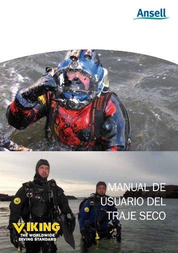 manual de usuario del traje seco - Ansell Protective Solutions