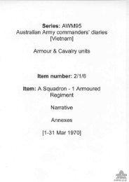 AWM95, 2/1/6 - Australian War Memorial