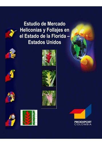 Estudio de Mercado Heliconias y Follajes en el Estado de la Florida ...