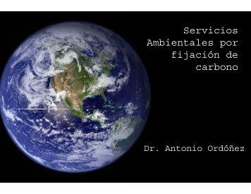 """""""Servicios ambientales por fijación de carbono"""" Dr. Antonio Ordoñez ..."""