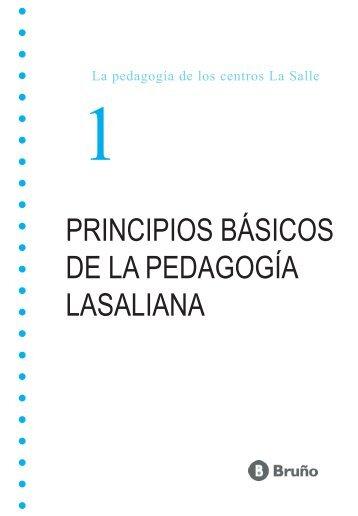 principios básicos de la pedagogía lasaliana - La Salle Distrito ARLEP