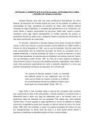 ESTRANDO A SEMENTE NOS SULCOS DA NADA - Asociación de ...