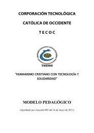 Modelo Pedagógico - TECOC