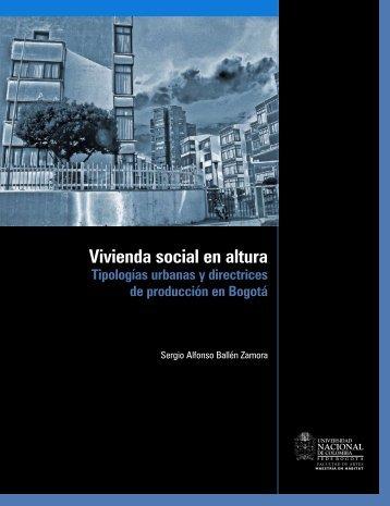 Vivienda social en altura - Facultad de Artes - Universidad Nacional ...