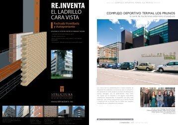 complejo deportivo termal los prunos - NAOS Arquitectura