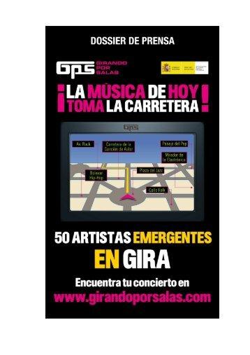 DOSSIER DE PRENSA_GPS_def - Girando Por Salas