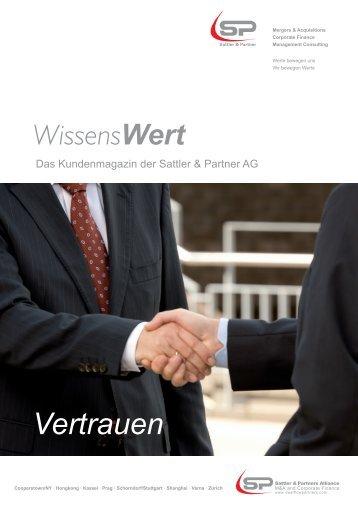 Vertrauen - Sattler & Partner AG