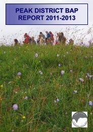 PEAK DISTRICT BAP REPORT 2011-2013 2011 2013