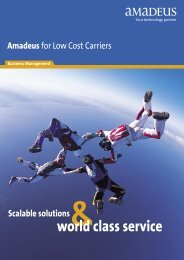 Amadeus Low Cost Carrier Brochure