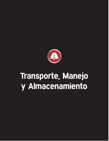 TRANSPORTE, MANEJO Y ALMACENAMIENTO