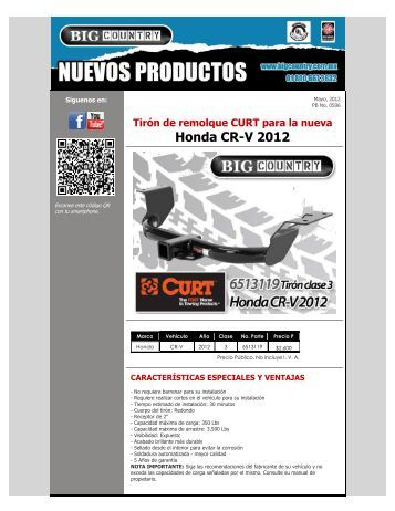Honda CR-V 2012 - Big Country