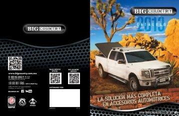 accEsorios para caja - big country