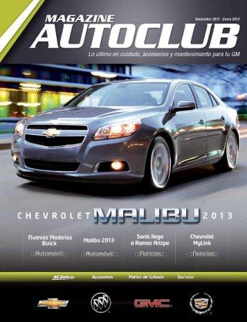AUTOCLUB Edición Noviembre 2012 - Enero 2013 - AC Delco