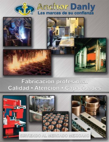 Anchor Danly Capabilities Brochure - Spanish - Danly IEM