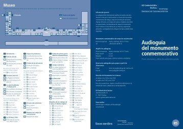 Audioguía del monumento conmemorativo - Audioguide-dachau.de