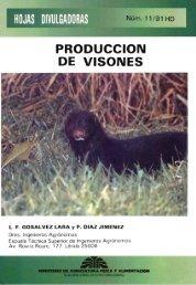produccion de visones - Ministerio de Agricultura, Alimentación y ...