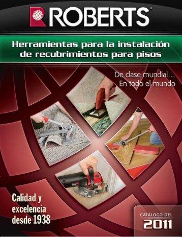 herramientas para instalaciones - Roberts Consolidated