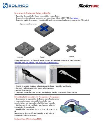 mastercam magazines rh yumpu com Mastercam Drawings Mastercam 9