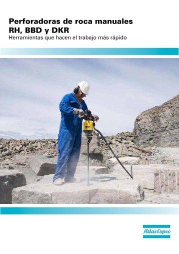 Catálogo perforadoras neumáticas ATLAS COPCO - Anzeve