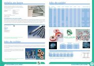 Catálogo 2012-2013: Soldadura - Pasta soldar - Sogelectro
