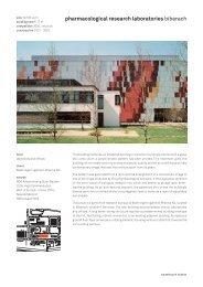 pharmacological research laboratories biberach - Sauerbruch Hutton