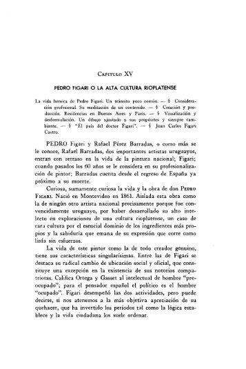 CAPITULO XV PEDRO Figari y Rafael Pérez Barradas, o ... - Figuras