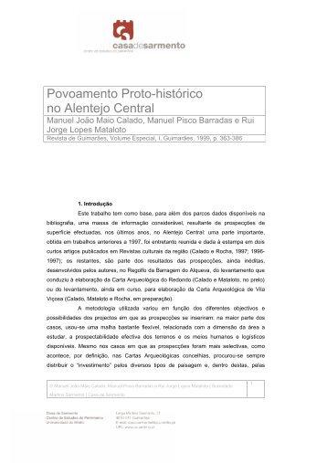 PDF Calado Barradas Mataloto 1999 - uniarq