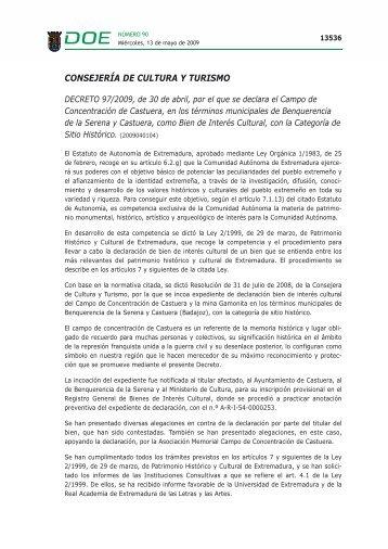 Información - Diario Oficial de Extremadura