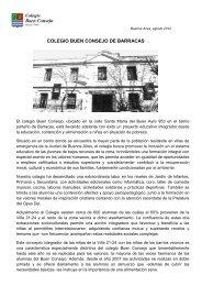 COLEGIO BUEN CONSEJO DE BARRACAS