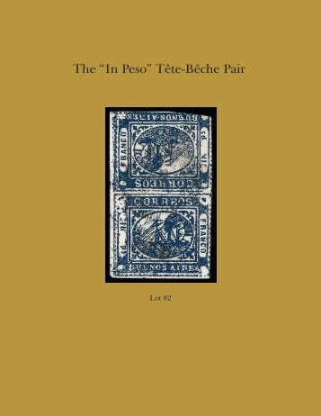 """The """"In Peso"""" Tęte-Bęche Pair - Siegel Auction Galleries"""