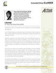Libertad - Universidad de Monterrey