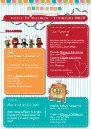 """boletín madrid - febrero 2012 """"San Valentín"""" - Baby Deli"""