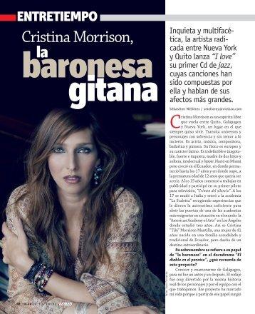 Cristina Morrison,