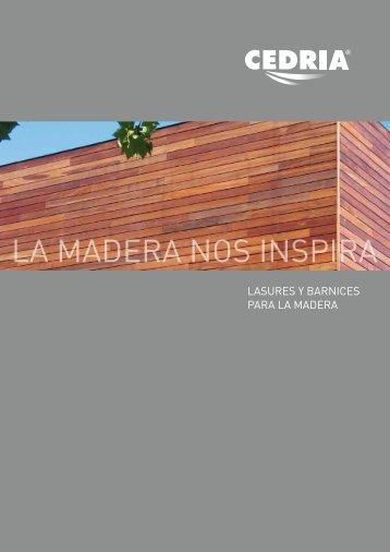 LA MADERA NOS INSPIRA - Cedria