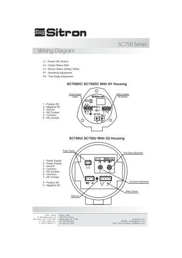 "â€Å""q†series sequencer wiring diagram supco wiring diagram sc750 series sitron"